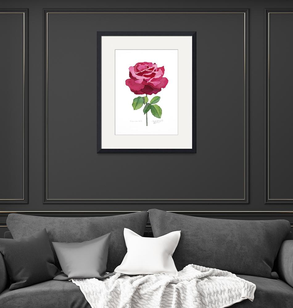 """""""Rose Essence II 2012""""  (2012) by WendySysouphat"""