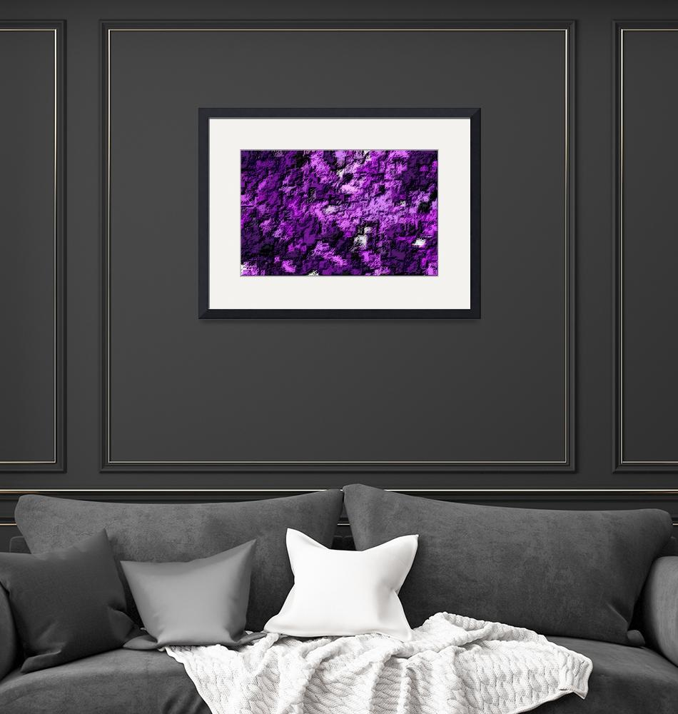 """""""Violet Abstract 3""""  (2013) by TheNorthernTerritory"""