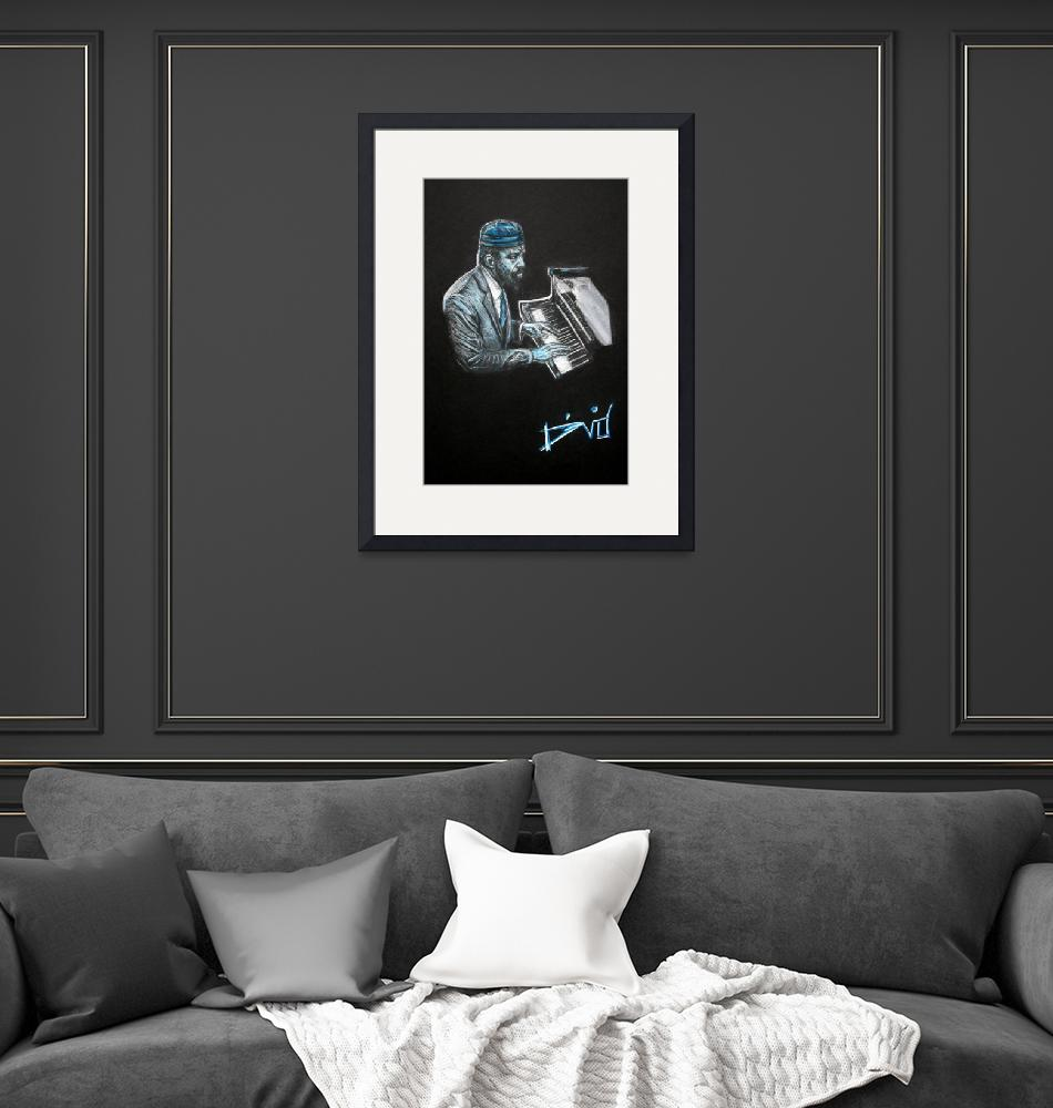 """""""Blue Note # 4"""" (2012) by Dvid"""