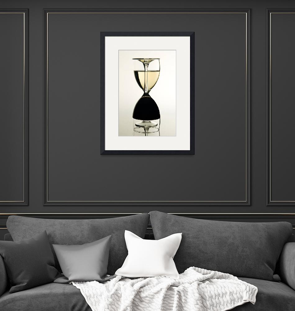 """Wine Hour-Glass""  by landscape"