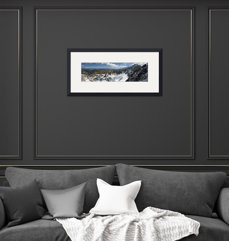 """""""Mountains panorama""""  by maytree"""