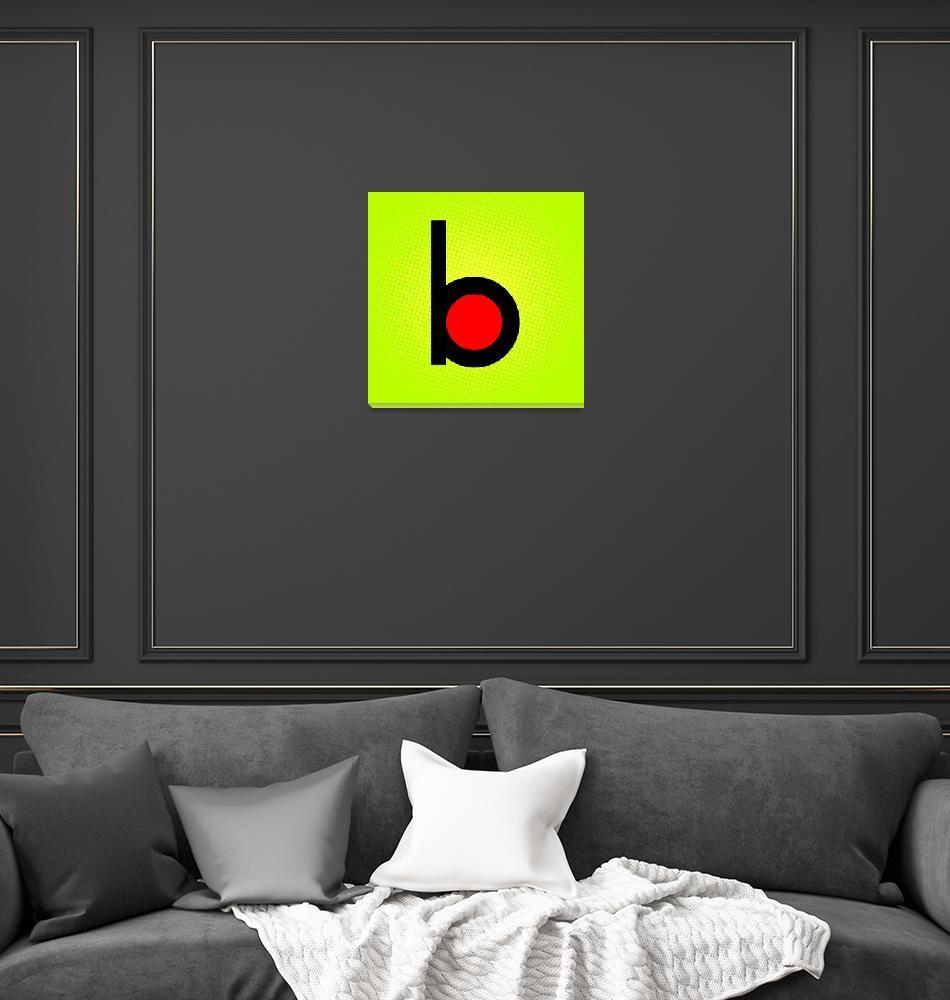 """""""B-Billboard""""  by LetterPopArt"""