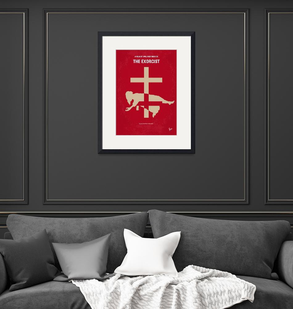 """""""No666 My The Exorcist minimal movie poster""""  by Chungkong"""
