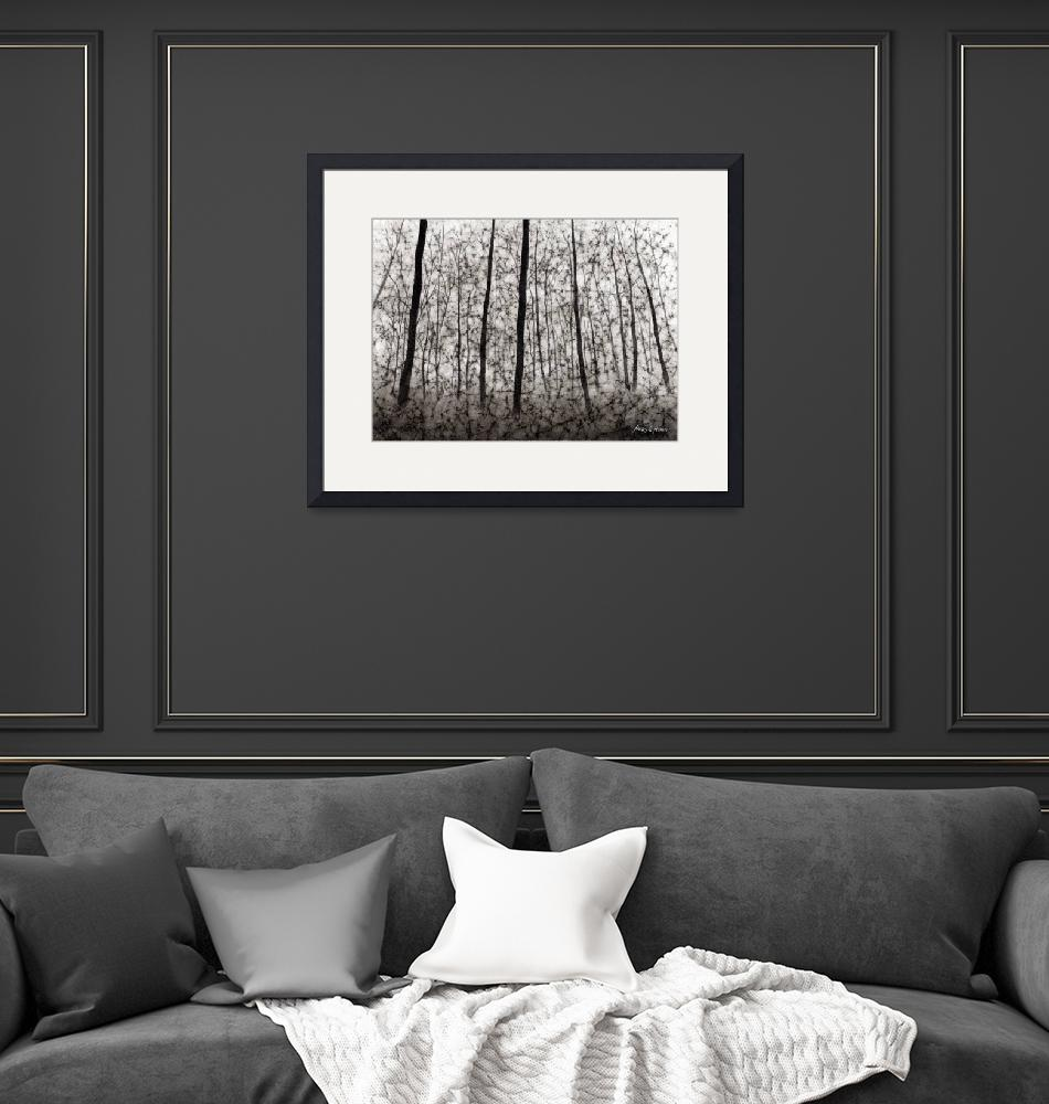 """""""Bare Forest""""  (2011) by HaileyWatermedia"""