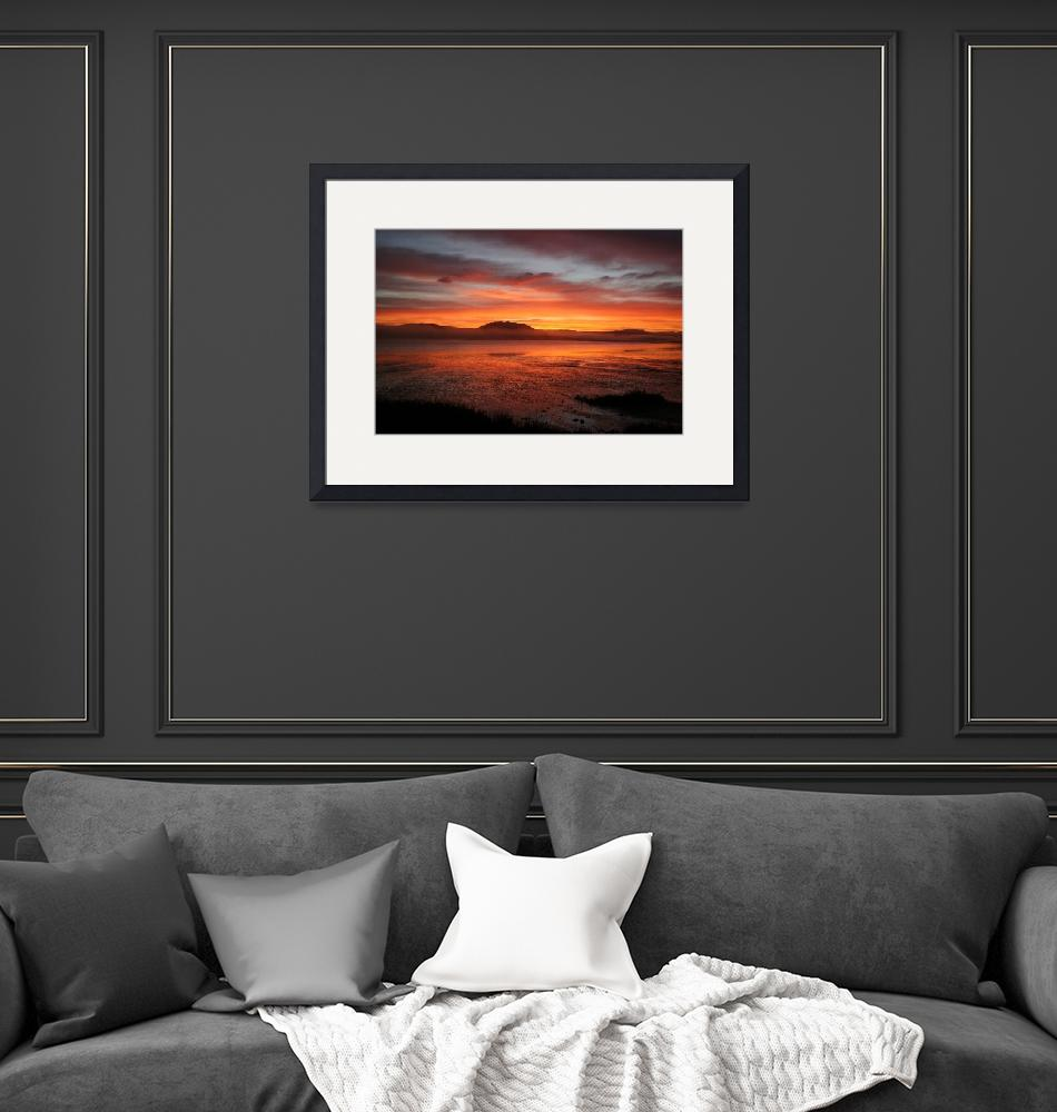 """""""Sunrise Over Inverness""""  by Kris"""