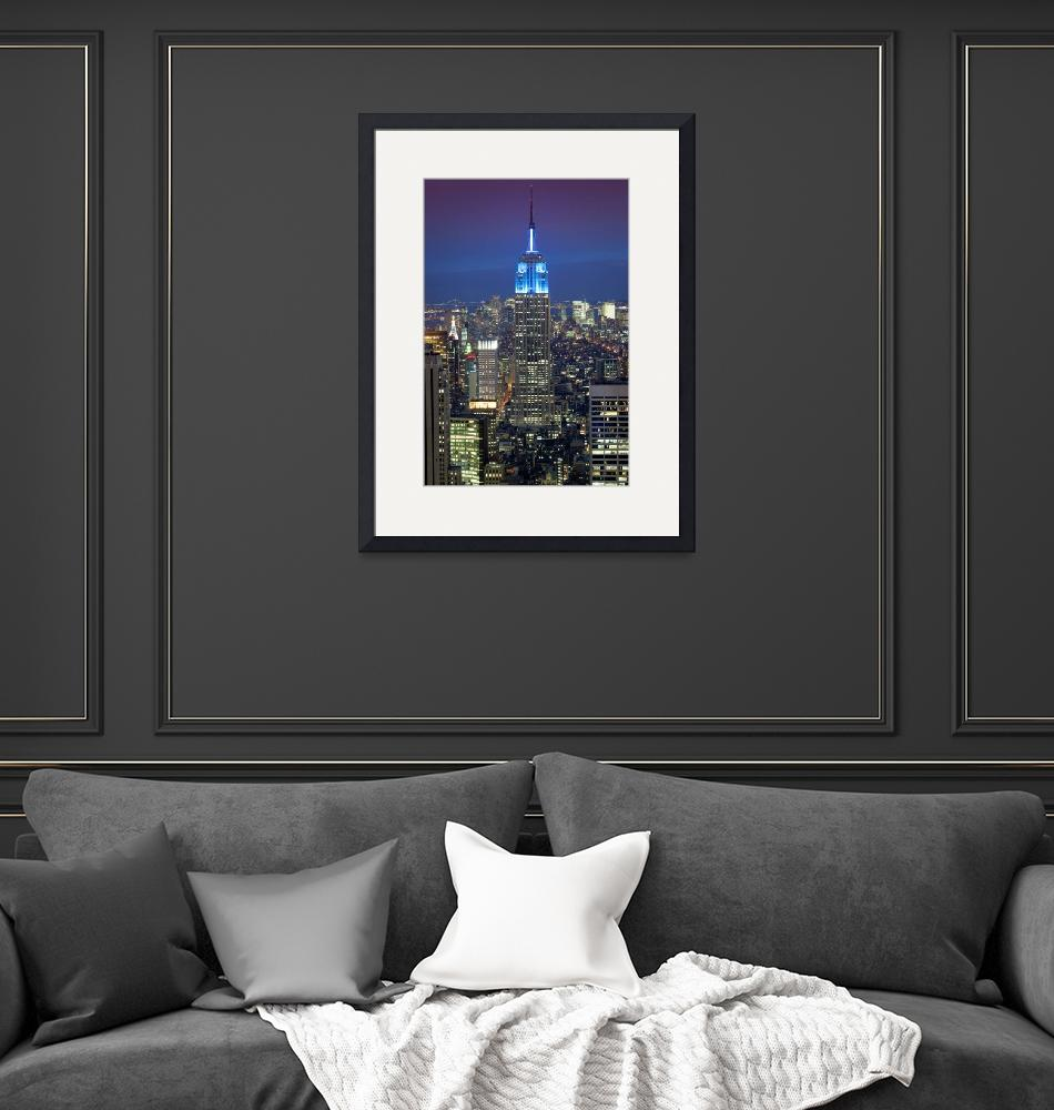 """""""Empire State Building""""  (2011) by Inge-Johnsson"""