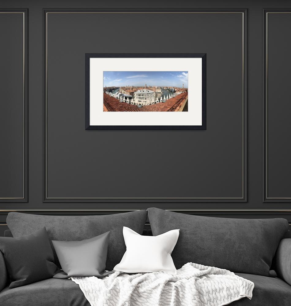 """""""venice roof top panorama""""  by cisfo"""