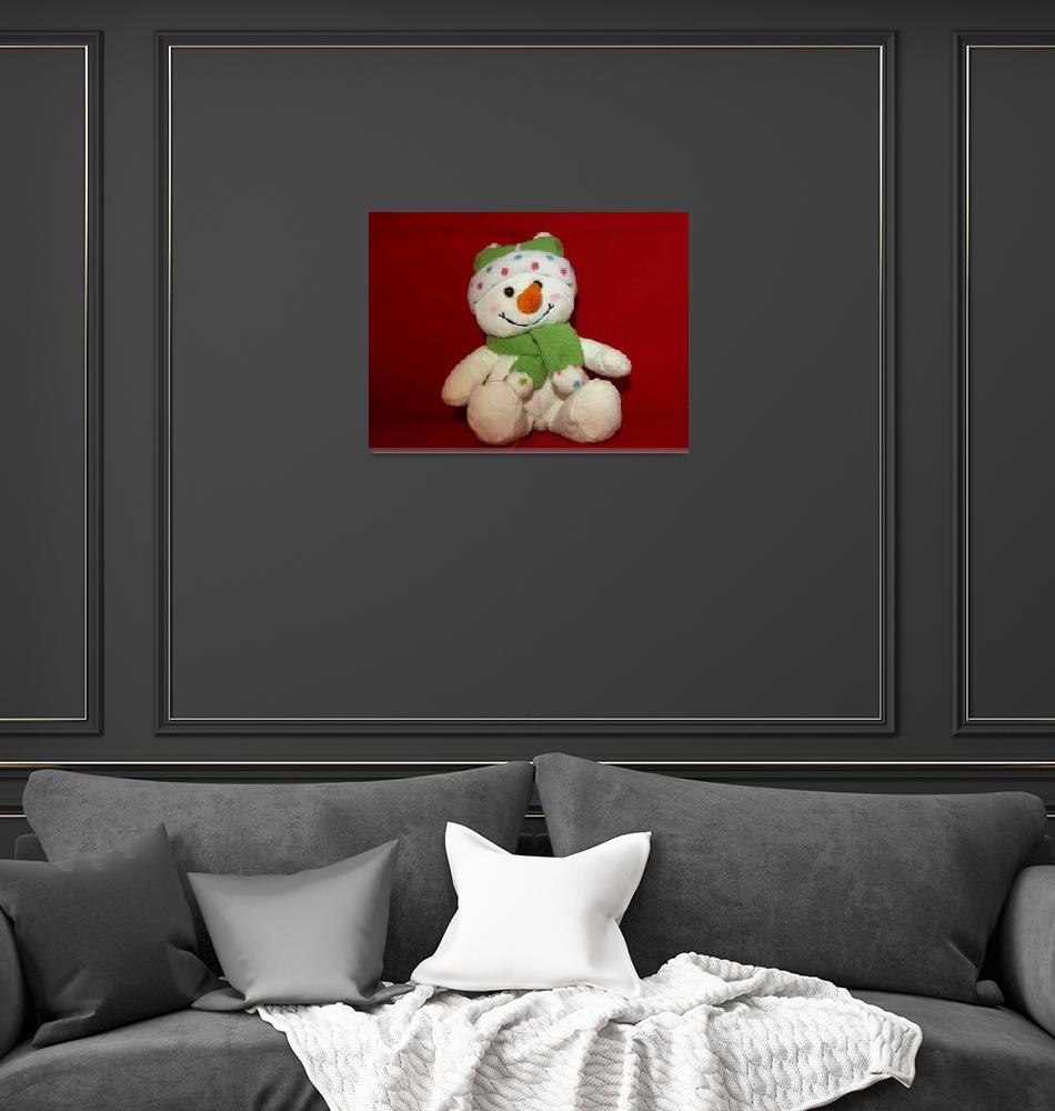 """""""Snowman waiting for Christmas 11""""  (2009) by Albertphoto"""