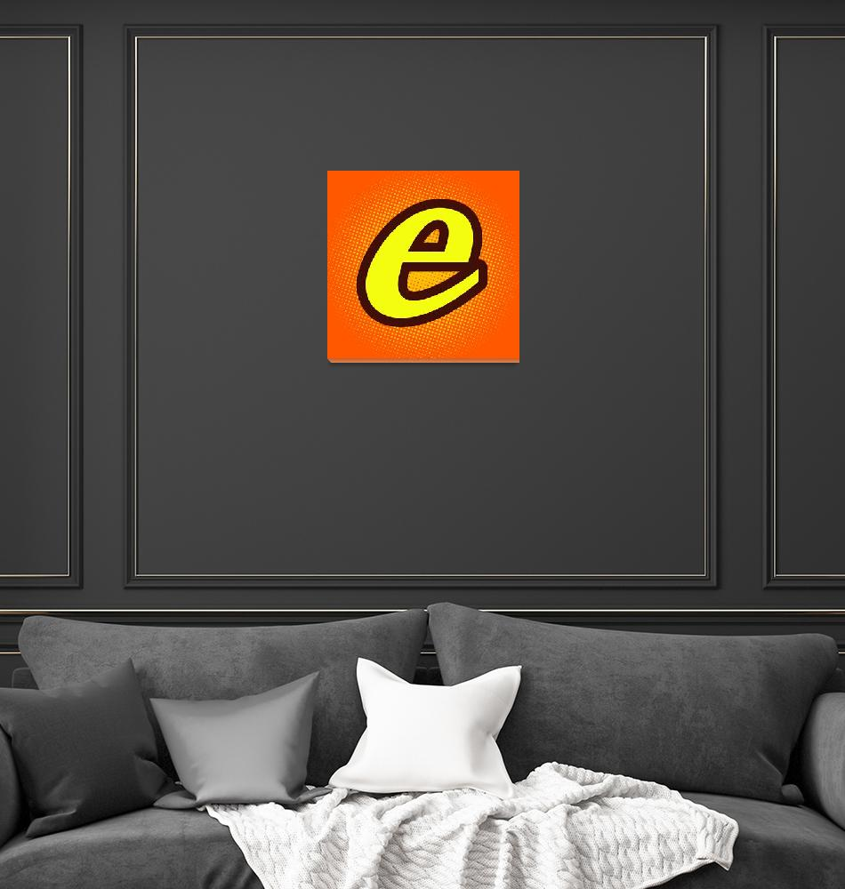 """""""E-reeses""""  by LetterPopArt"""