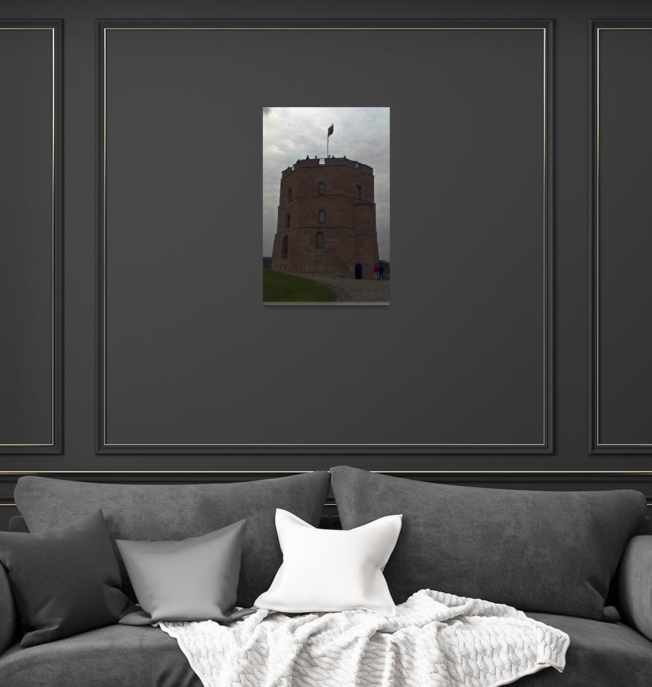 """""""Gedaminas Tower""""  (2016) by janesprints"""