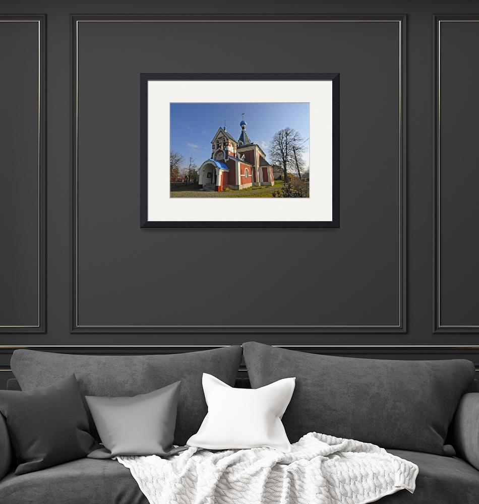 """""""Picturesque Orthodox Christian Church""""  by petrsvarc"""