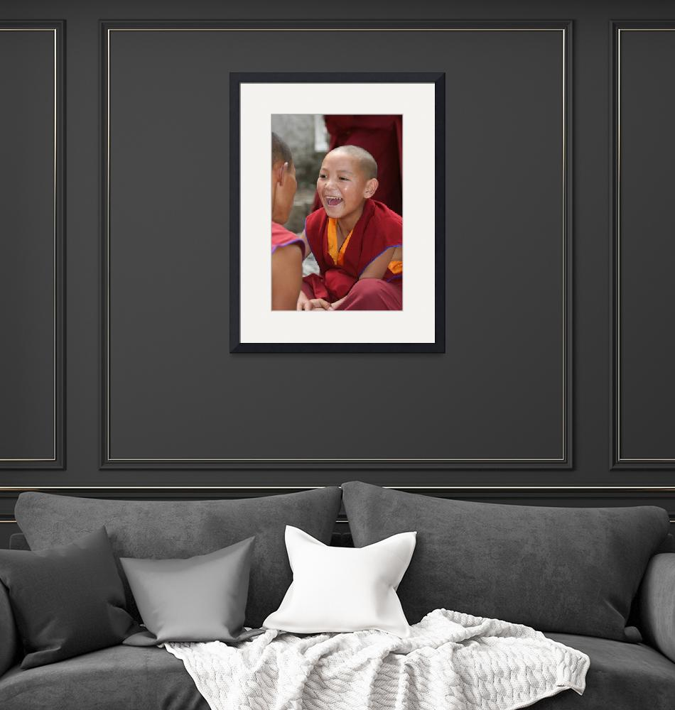 """""""Young Monk in Tibet""""  by erick"""
