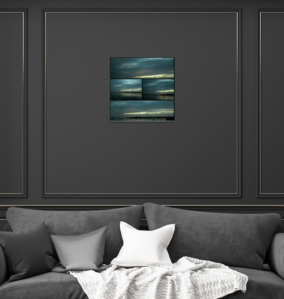 """Collage Port Washington #2""  (2013) by Lucine"