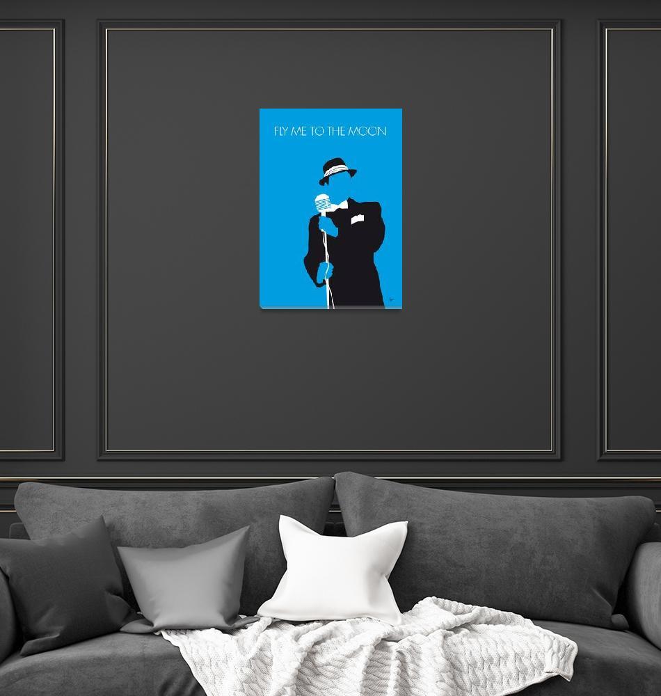 """""""No059 MY SINATRA Minimal Music poster""""  by Chungkong"""
