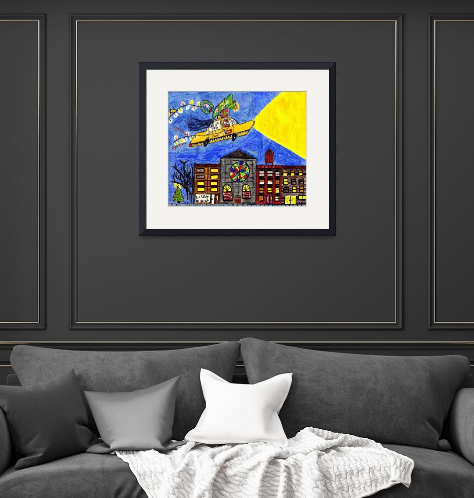 """""""Flying Taxi""""  (2011) by biriart"""