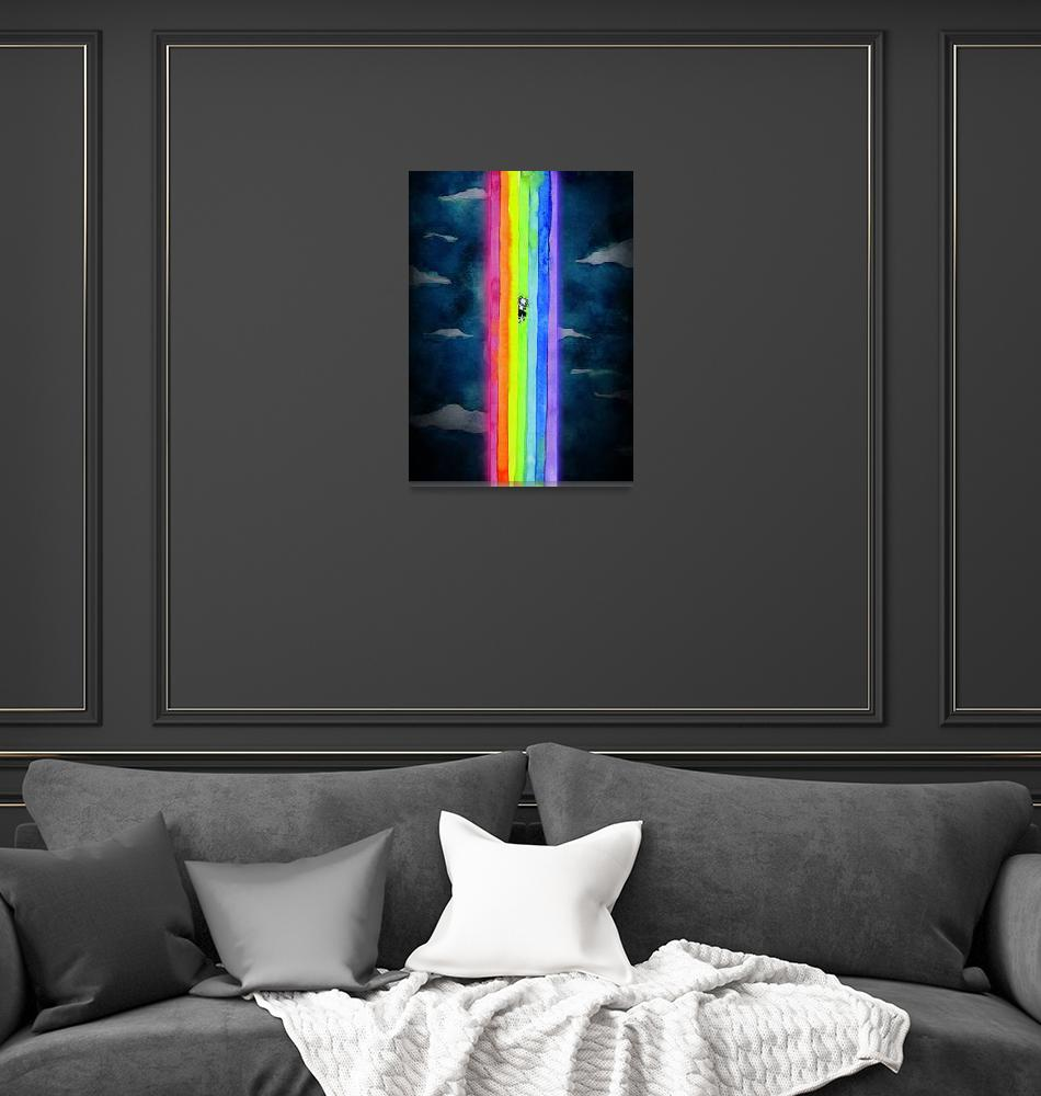 """Climb the rainbow""  (2012) by francisfung"