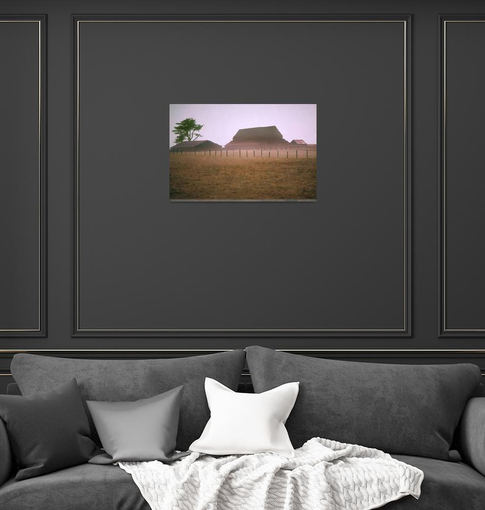 """159 Mendocino Barn""  (2010) by willphoto"