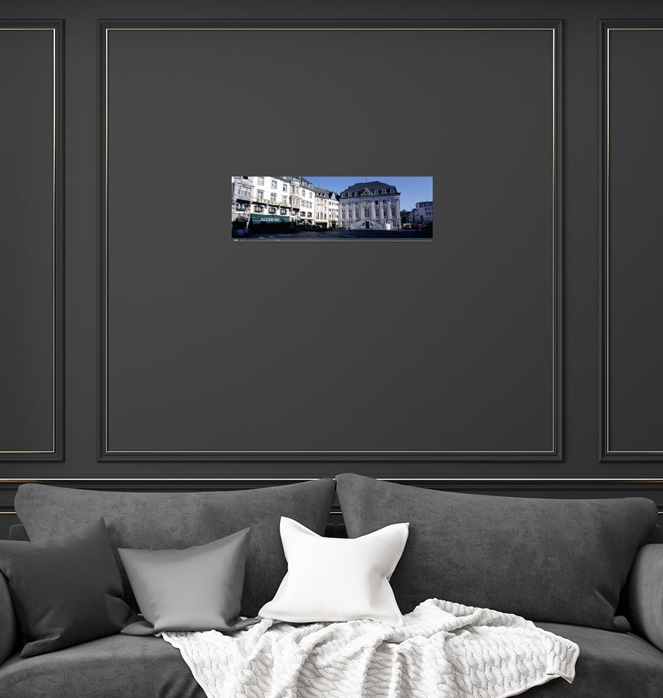 """City Hall and Square Bonn Germany""  by Panoramic_Images"