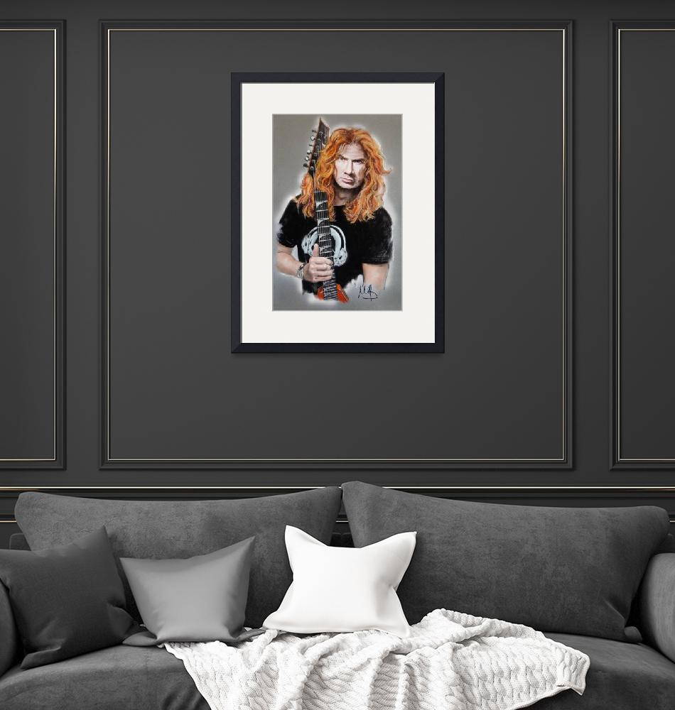 """""""Dave Mustaine""""  (2014) by MelanieD"""