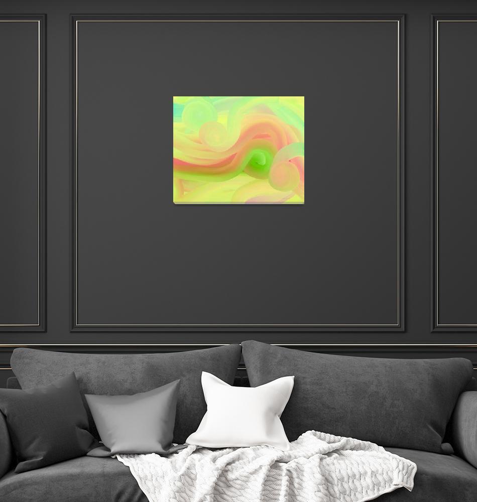 """Round Pastels""  (2007) by bettymackey"