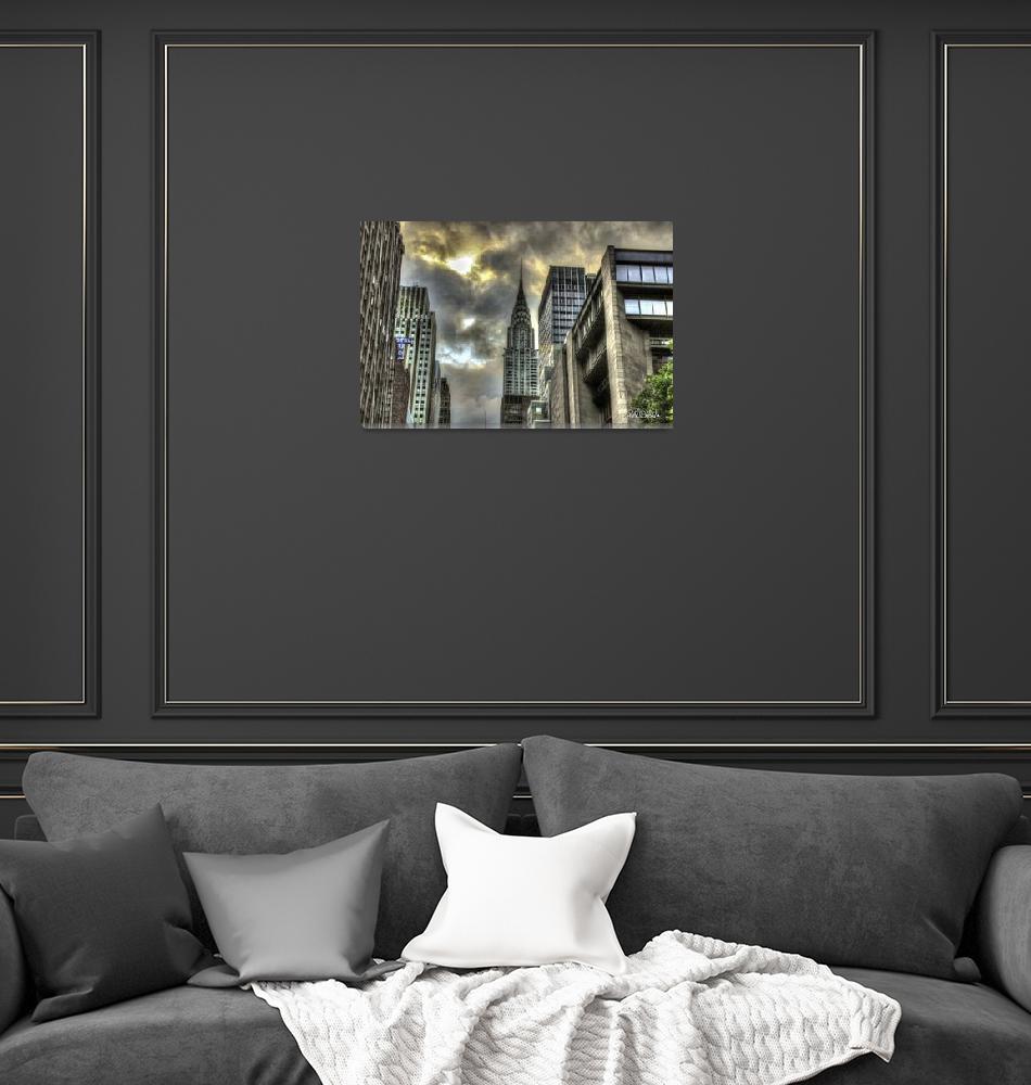 """Chrysler Building""  (2013) by RickWoehrle"