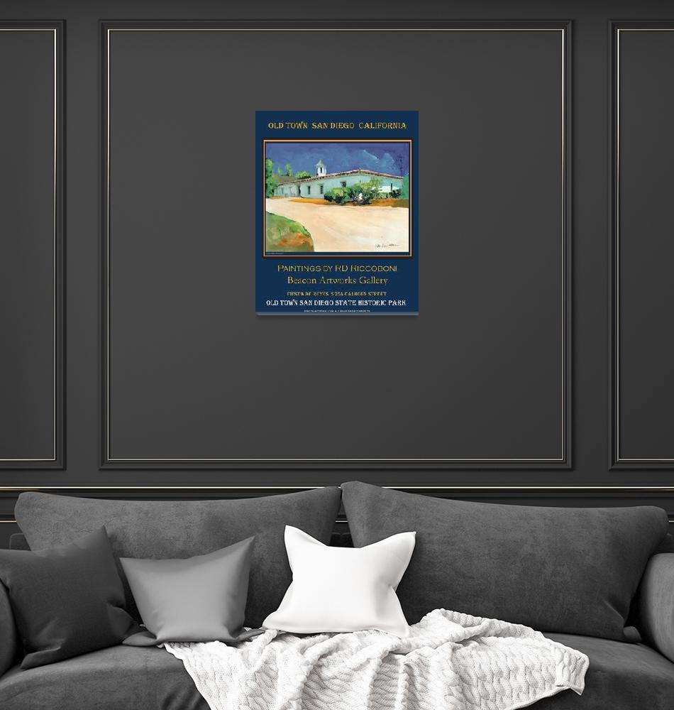 """Beacon Artworks Riccoboni poster""  (2009) by RDRiccoboni"