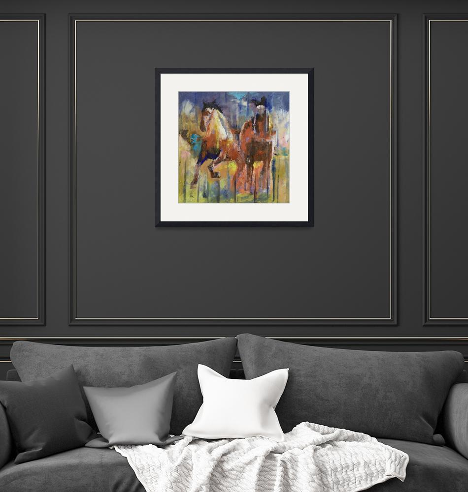 """""""Horses""""  by creese"""