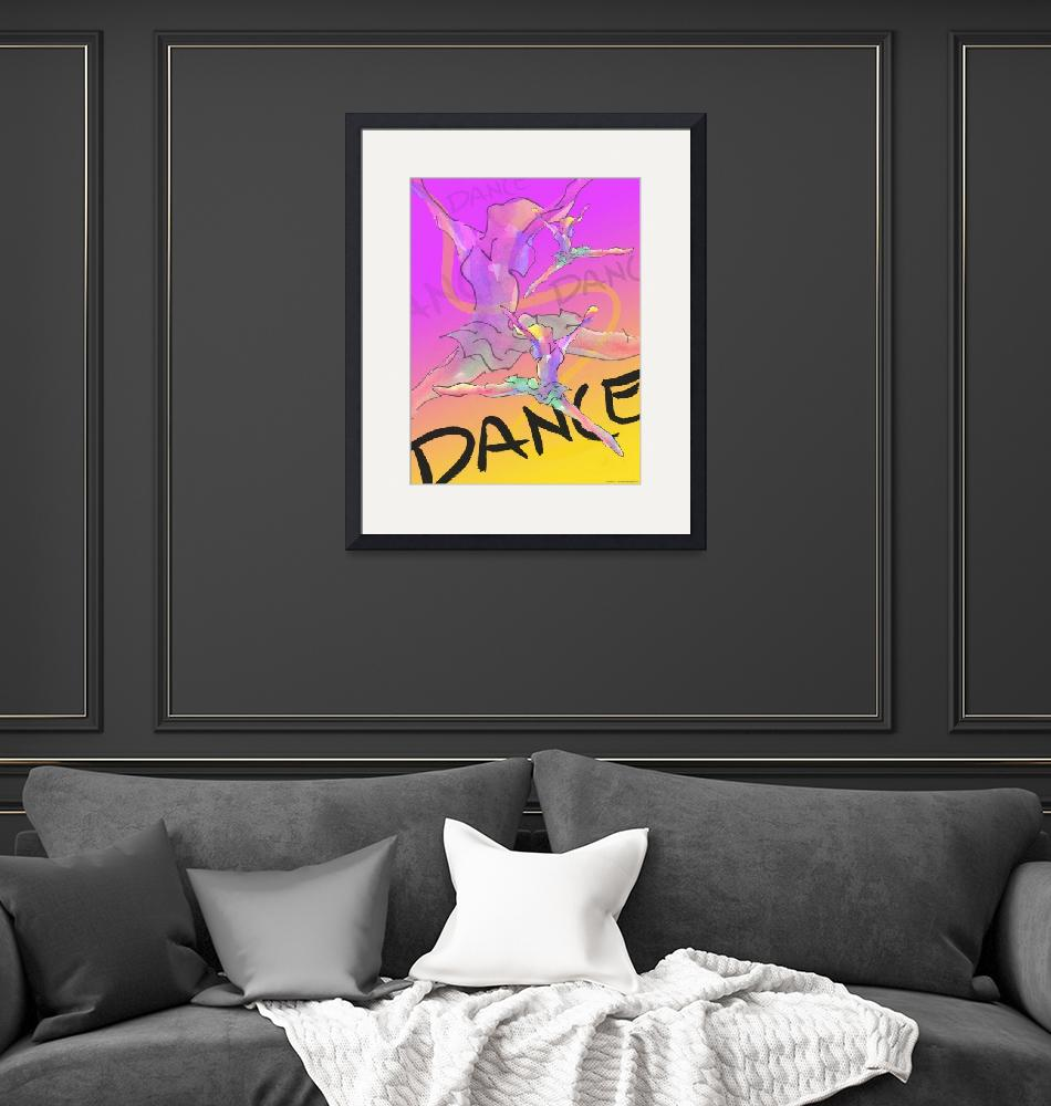 """""""Dance Poster 1""""  (2004) by CrystalCarey"""