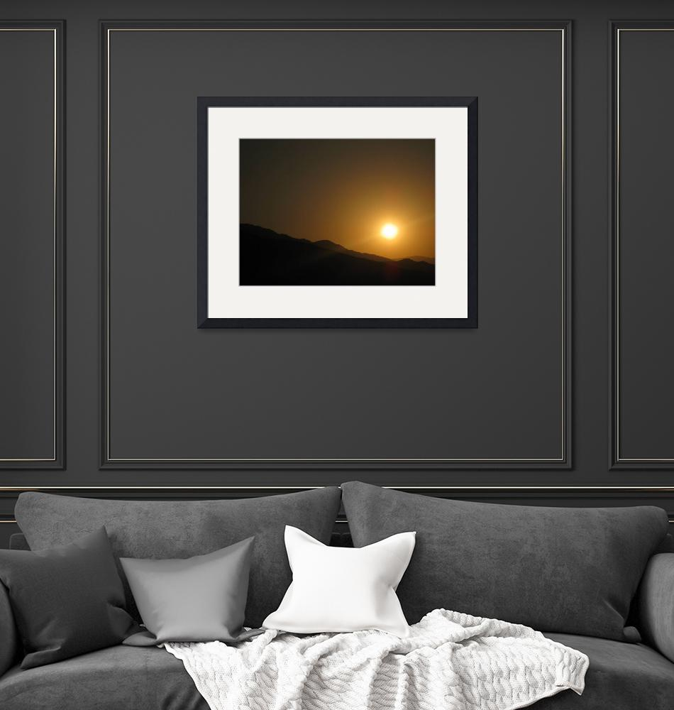 """""""Rolling Hills Sunset""""  (2011) by MikeSheridan"""