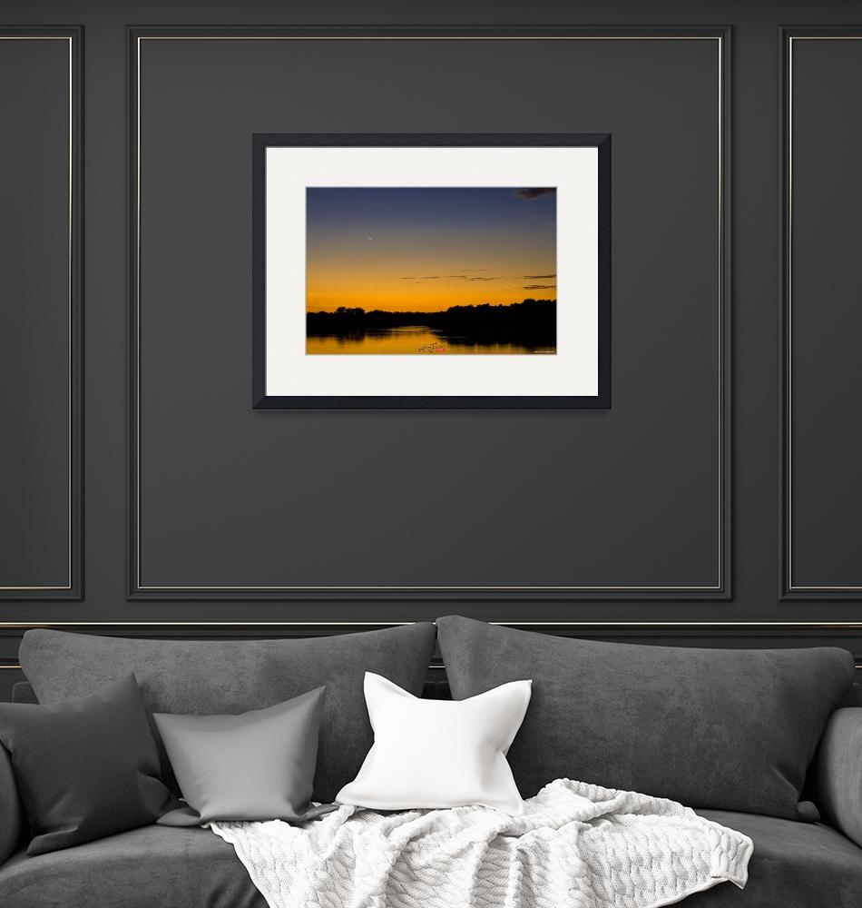 """""""Sunset at thebay""""  (2008) by ETicas"""