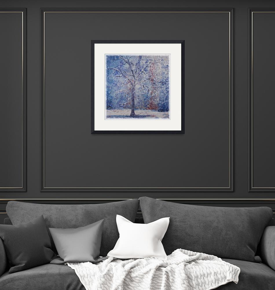 """""""Winter Trees""""  (2007) by nadinerippelmeyer"""
