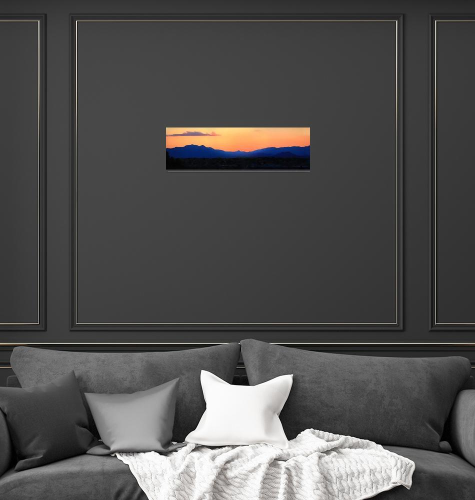 """Santa Fe Skyline""  (2011) by paulhood"