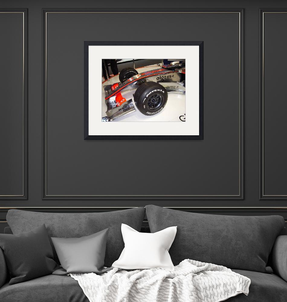 """""""Formula 1 car""""  (2008) by peter-a-photography"""