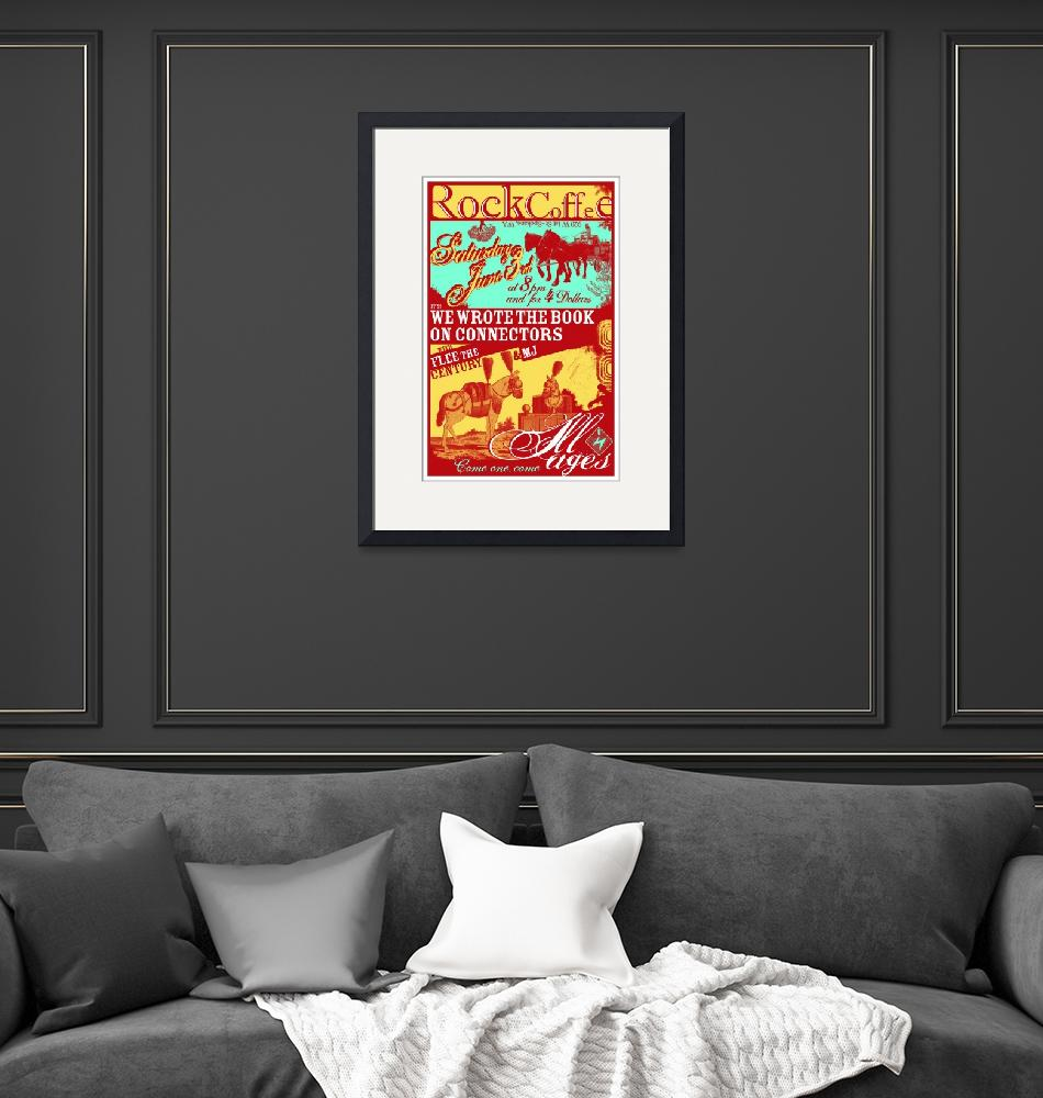 """Rock Coffee 060306 Gig Poster""  by nifty"