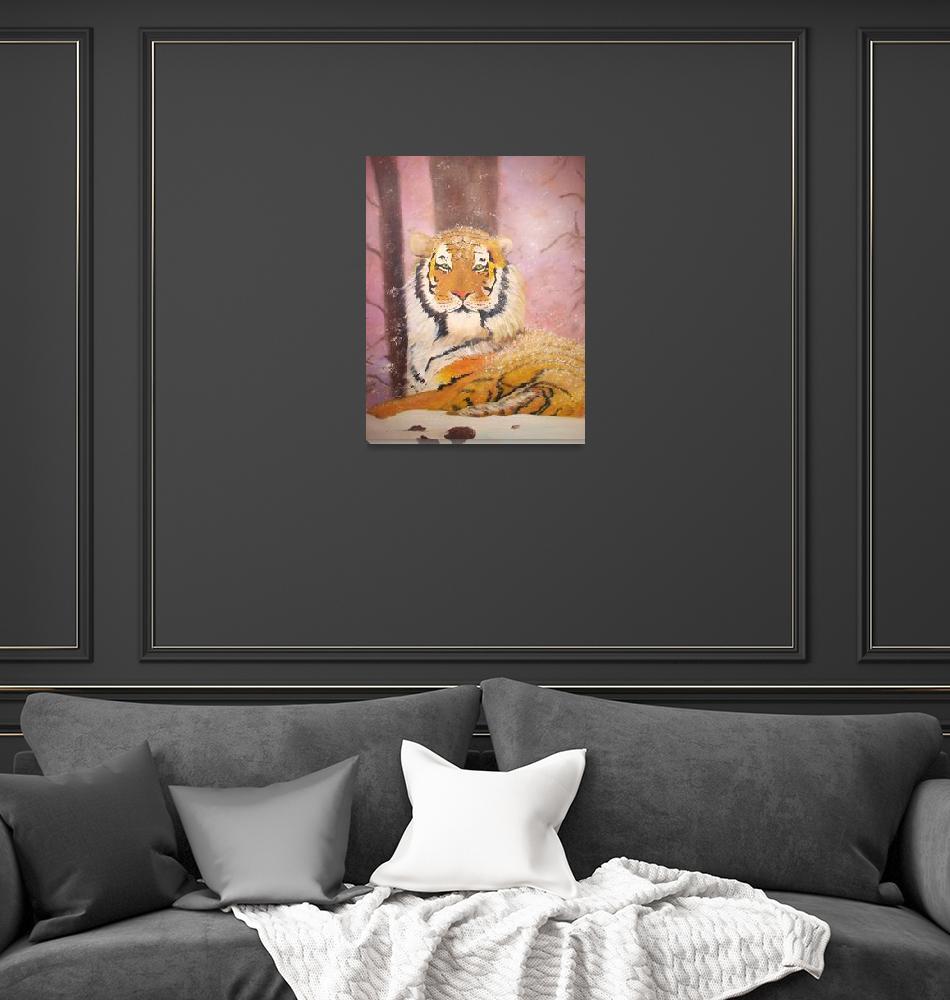 """""""tiger""""  (1995) by lynseyl"""