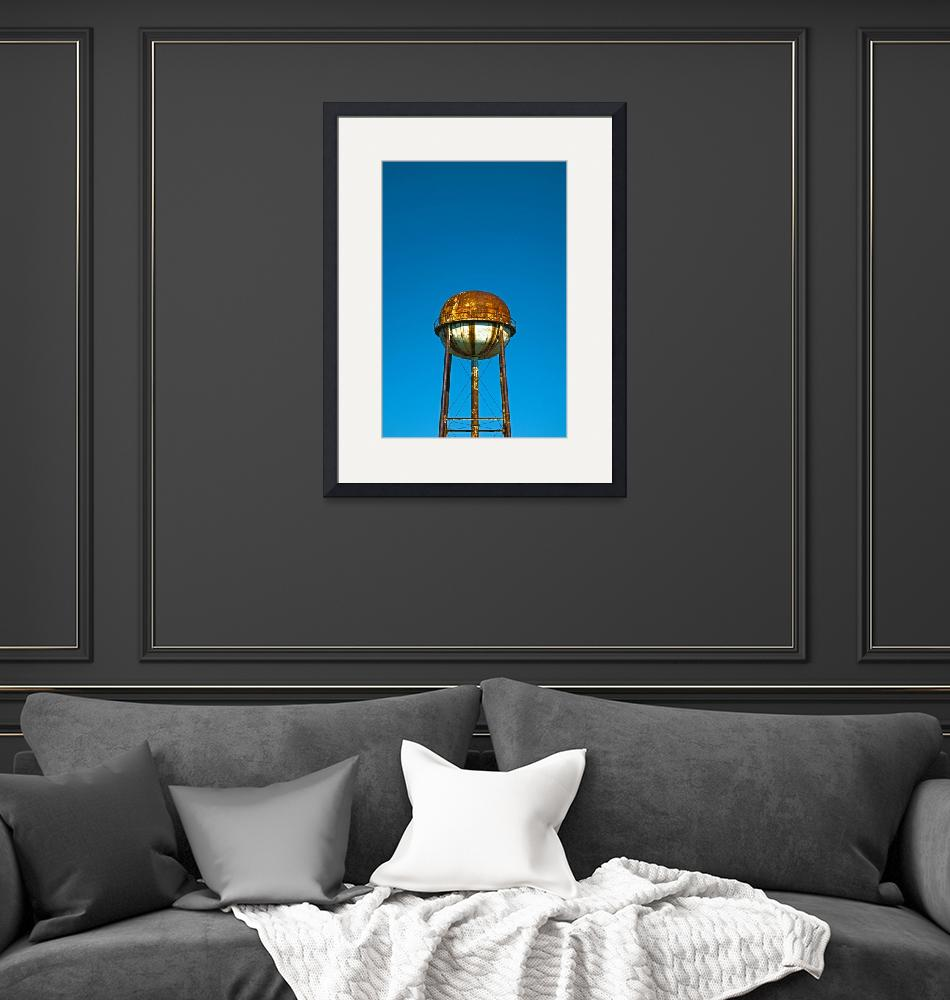 """""""Water Tower""""  (2010) by photoprint"""