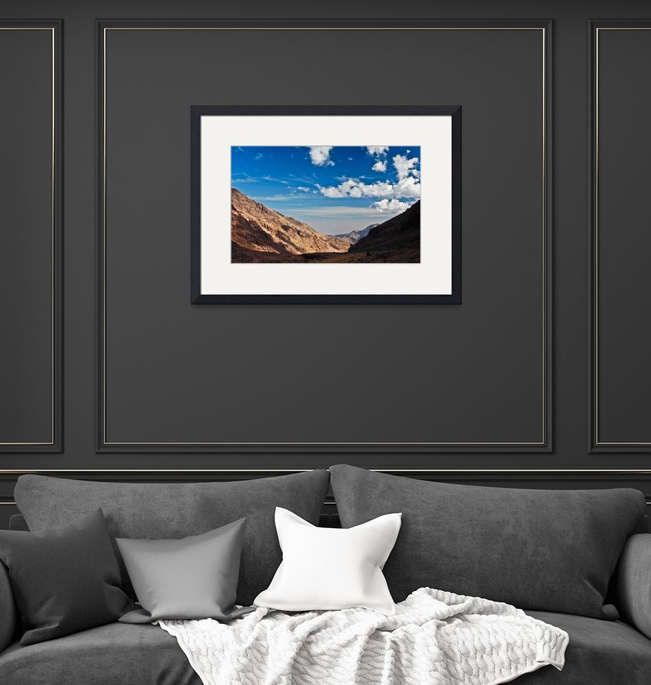 """""""View from Jebel Toubkal""""  (2011) by JezMeyer"""