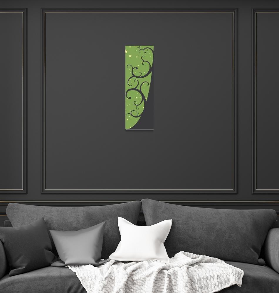 """Starry Tree Moss""  (2012) by chadammidown"