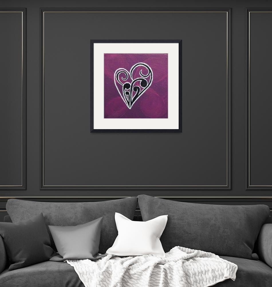 """""""Heart""""  (2011) by Desray"""