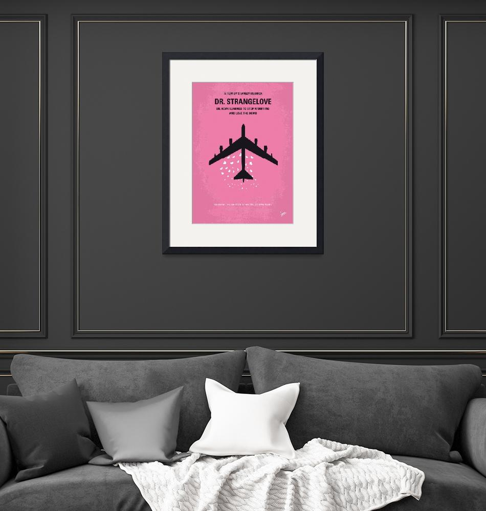 """No025 My Dr Strangelove minimal movie poster""  by Chungkong"