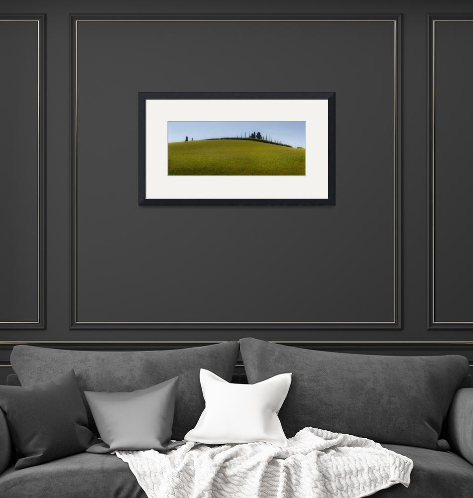 """""""Rolling hills of Tuscany (2913)""""  (2012) by ToddLangille"""