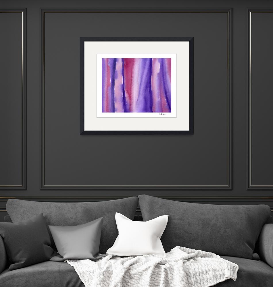 """""""""""Shades of Purple and Red""""""""  (2015) by k9artgallery"""
