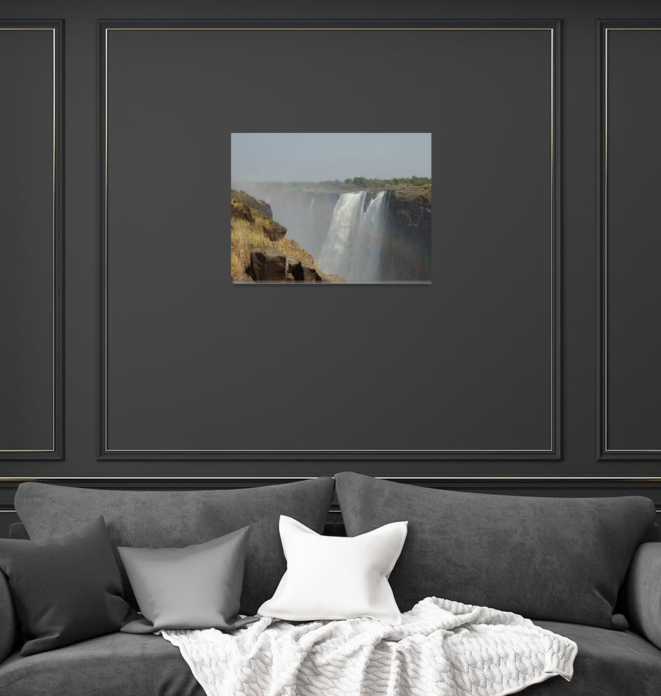 """Victoria Falls""  (2010) by LukeRyder"