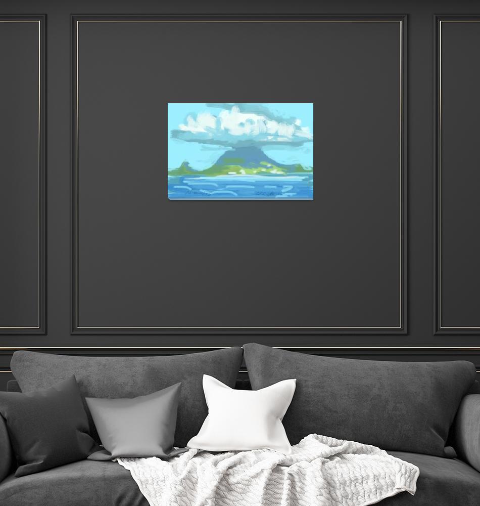 """Island of Nevis""  (2015) by rogerwhite"