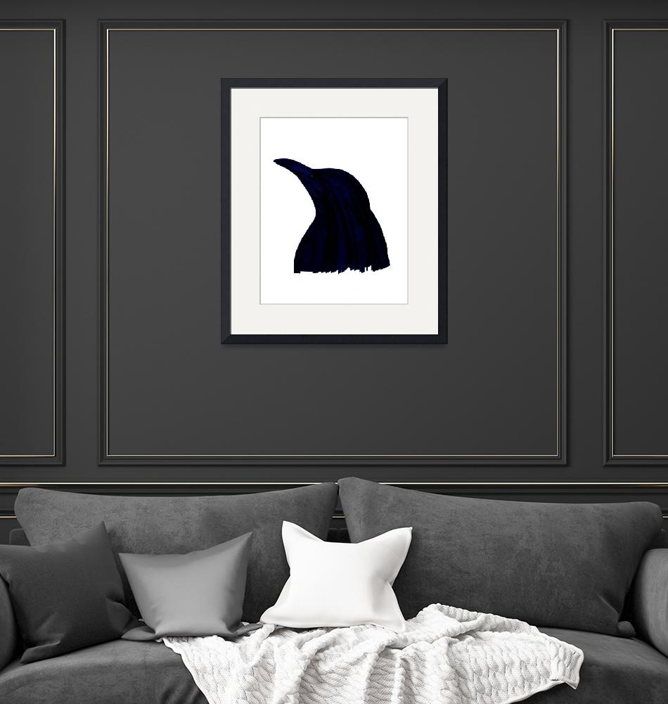 """""""Penguin Silhouette""""  (2014) by tableturning"""