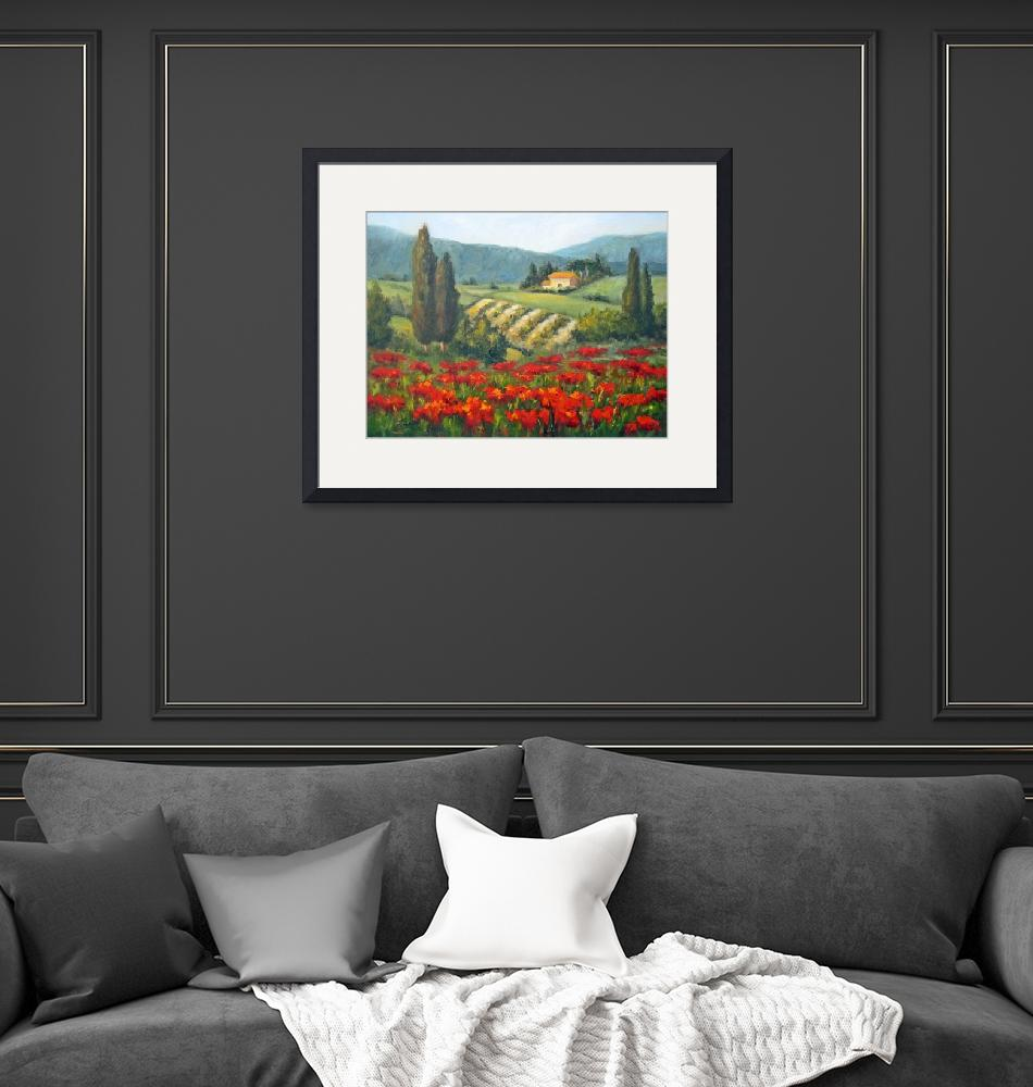 """""""Beyond the Poppies""""  by Fiorello"""
