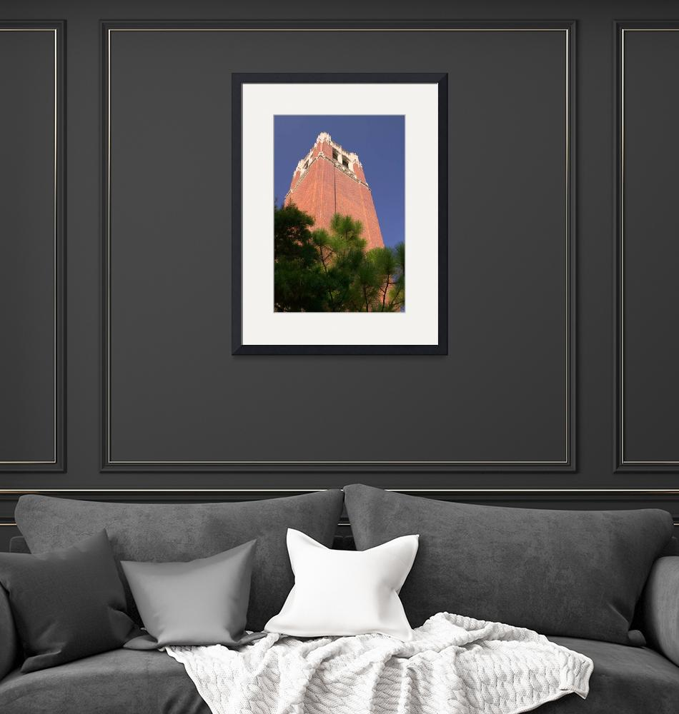 """""""Century Tower, University of Florida, UF""""  by fineartphoto"""