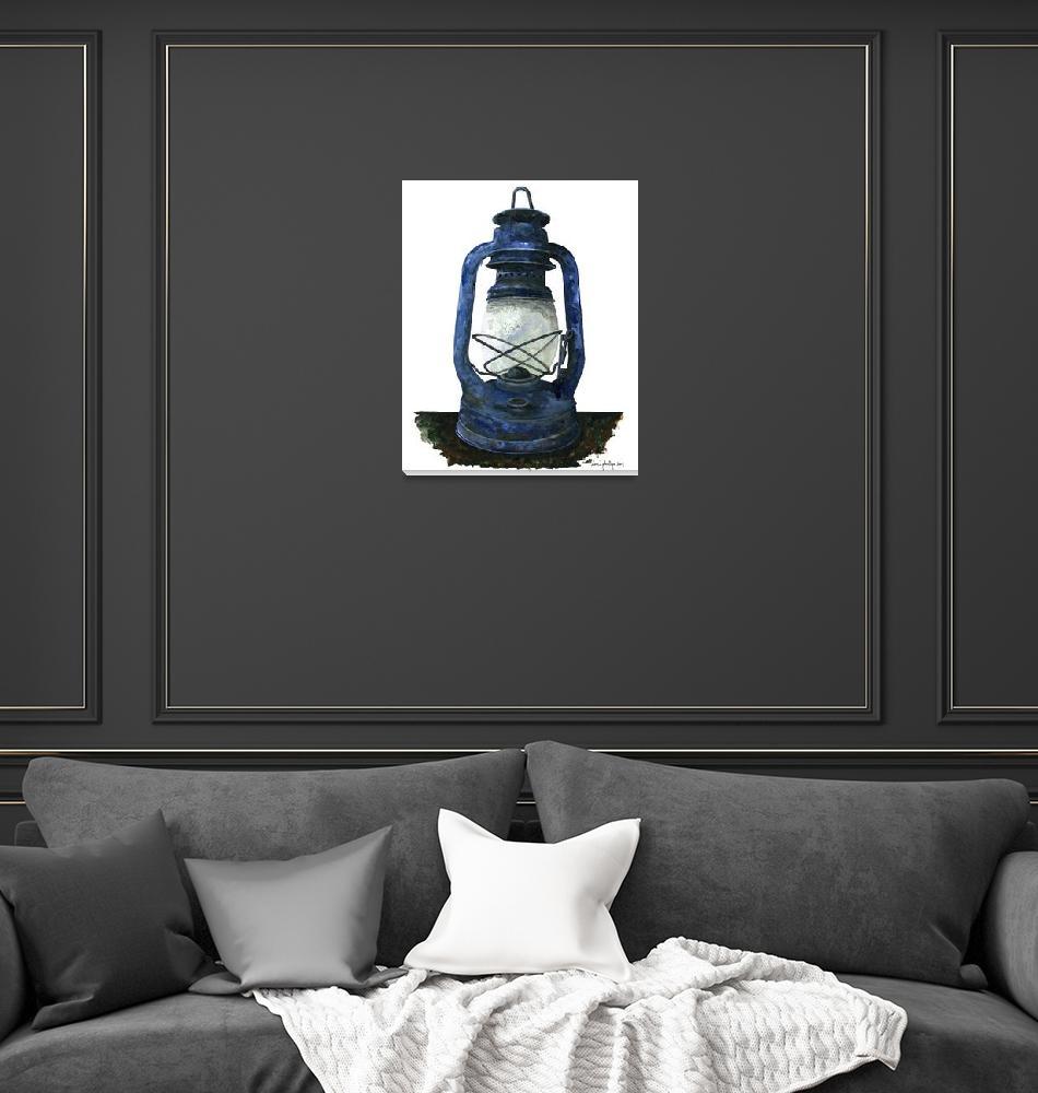 """Hurricane Lantern : Antique oil lantern : 07""  (2009) by OAKTREE"