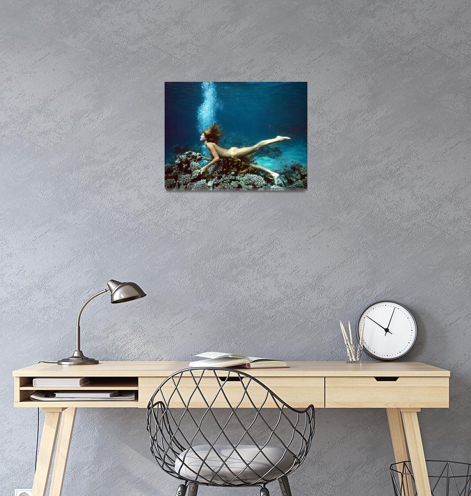 """""""MermaidCoral""""  by DerekBerwin"""