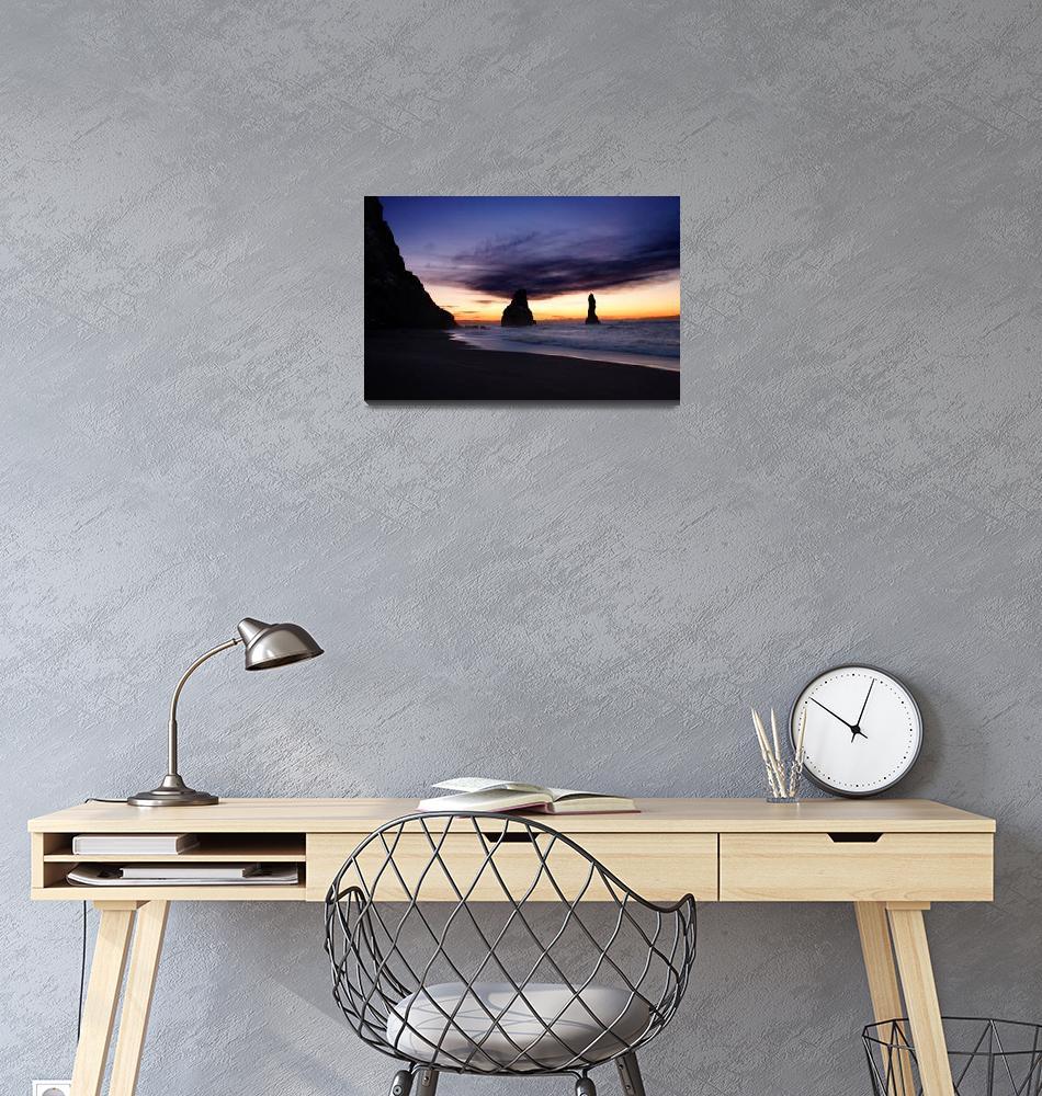 """Winter sunrise""  (2018) by robertgrac"